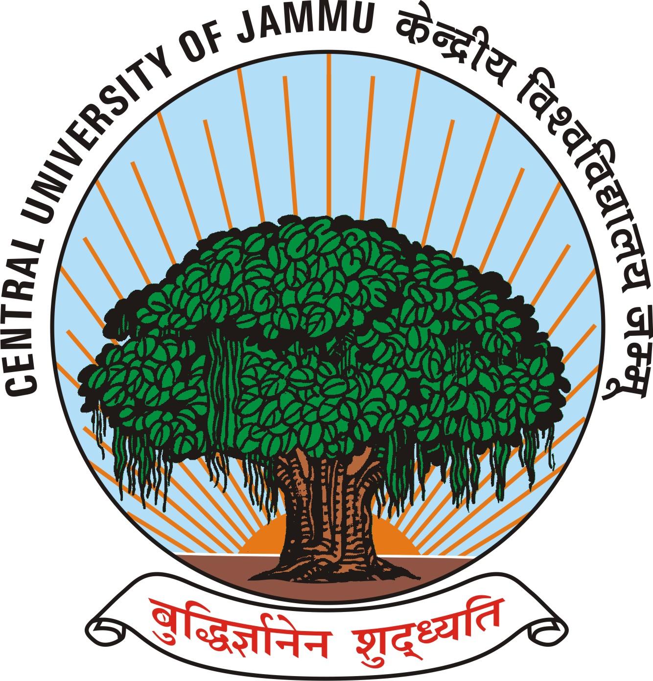 Central University Of Karnataka: Requirement In Central University Of Jammu Jan-2014
